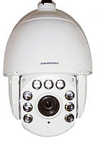 Видеокамера-робот SAV AHD PTZ-22X 1080P наружная Savamax