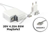Блок питания для ноутбука Apple MacBook 20V 4.25A 85W MagSafe 2, A1398, A1424, MC975, MC976, ME664, ME665