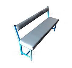 Скамья для раздевалки с мягким покрытием L=150см. GM0050
