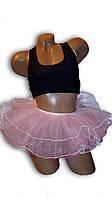 Детская юбка пачка, балерина. Розовая.