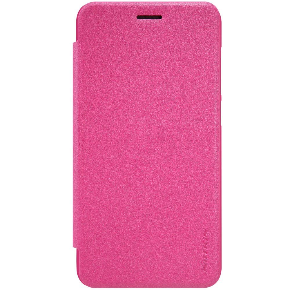 Чехол книжка Nillkin Sparkle Series для Huawei Y5 II розовый