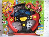 Детский музыкальный руль Маленький водій 7044