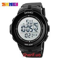 Часы Skmei DG1127 Black/White  DG1127BKWT