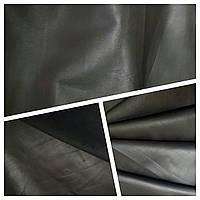 Кожа одежная телёнок черный матов. 0,5 мм Италия