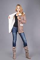 Толстовка Куртка женская на меховой основе - Распродажа