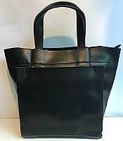 Кожаная модная женская сумочка