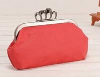 Клатч женский Alexander McQueen. Красный
