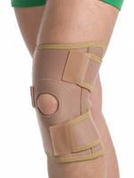 Бандаж на коленный сустав разъемный Медтекстиль 6058