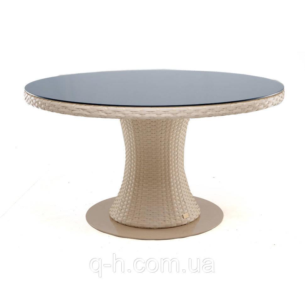 Круглый стол плетеный из искусственного ротанга Atlant