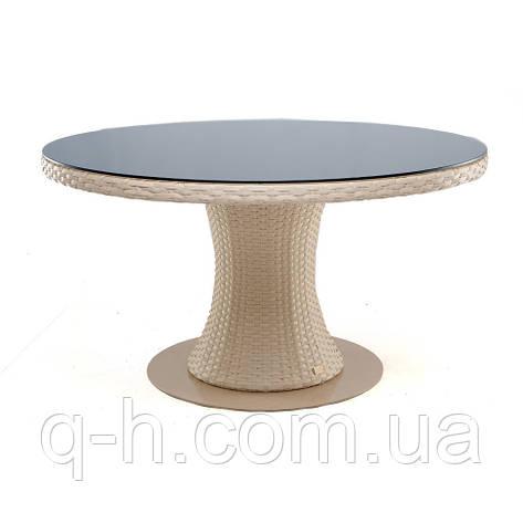 Круглый стол плетеный из искусственного ротанга Atlant, фото 2