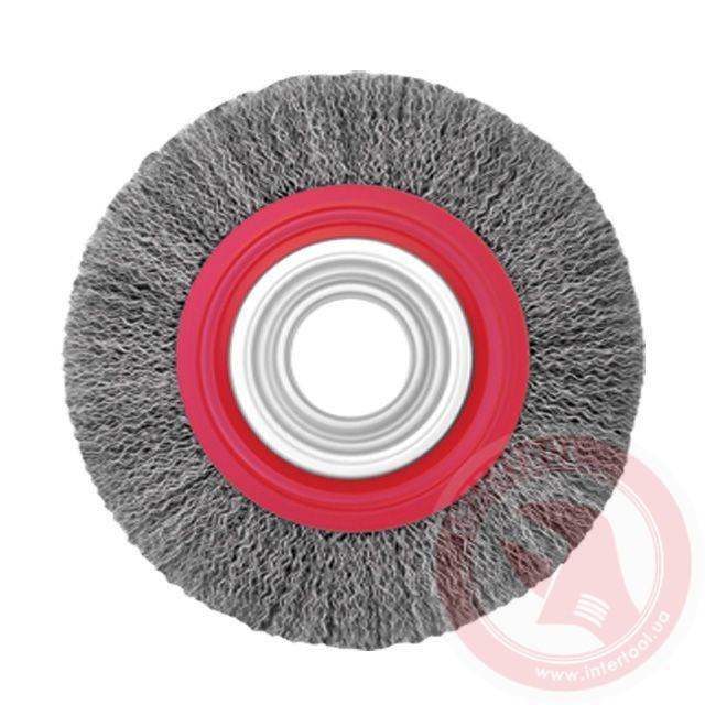 Щётка кольцевая 200х32мм, витая проволока (ВТ-6200)