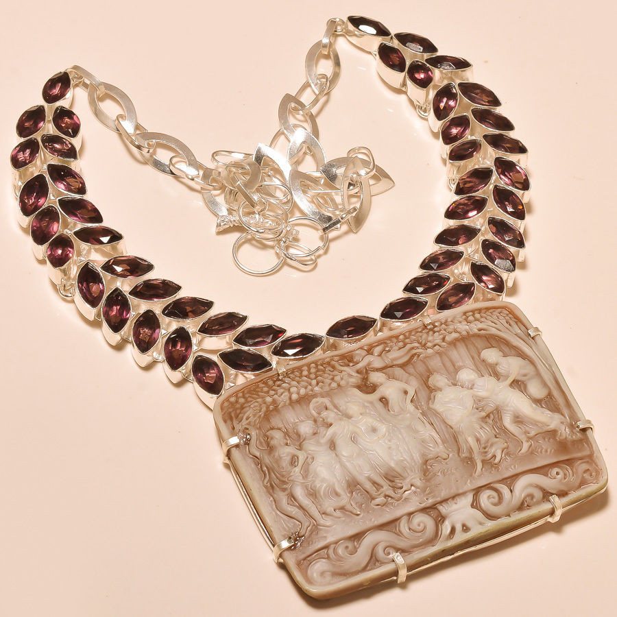 Аметистовое ожерелье  продажа 222e9875438b9