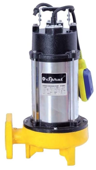 Дренажно-фекальный насос SPRUT V1500C с ножом