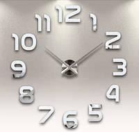 Настенные часы объемные 1м с римскими цифрами diy сделай сам зеркальные