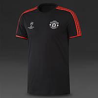 Футболка Манчестер Юнайтед тренировочная, поло (Лига Чемпионов), фото 1