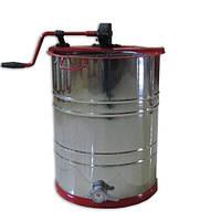 Медогонка с поворотом кассет 3-х рамочная,нержавеющая РКС (детали ротора, кассета сварная-нерж.), фото 1