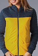 Курточка женская на синтепоне с капюшоном