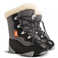 Детские зимние сапоги-дутики Demar (Демар) SNOW MAR графит р.20--29 теплющие, есть опт