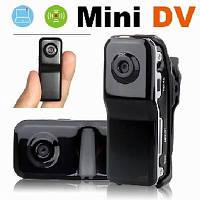 Беспроводные скрытые мини камеры. Шпионская мини камера Mini DV MD 80