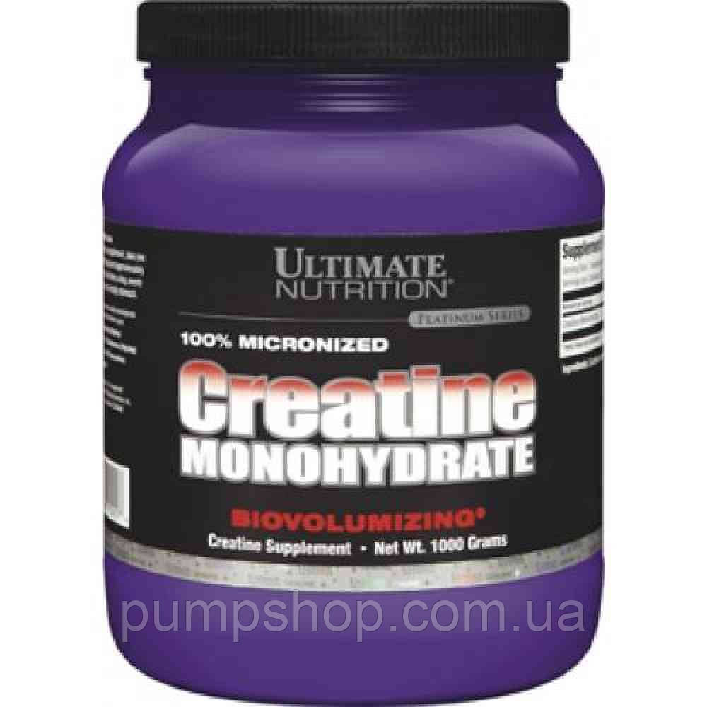 Креатин моногидрат Ultimate Nutrition Creatine monohydrate 1000 г