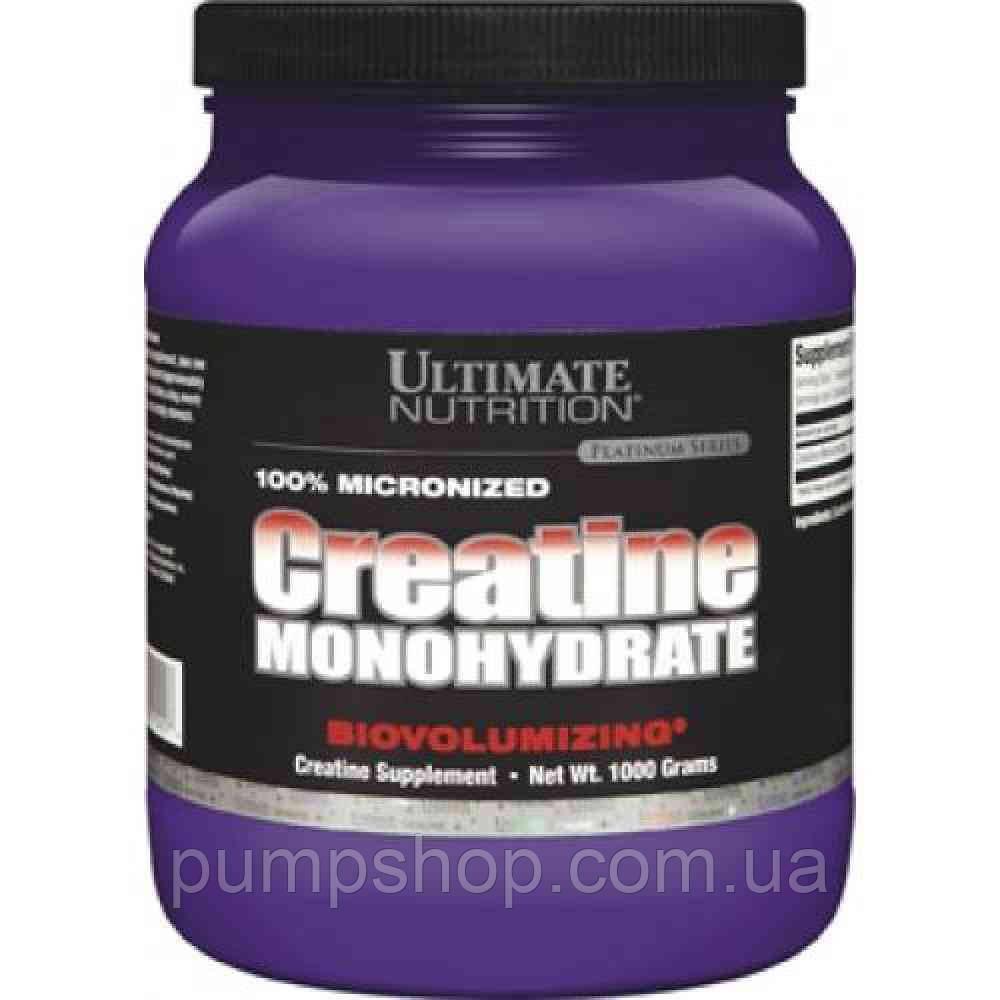 Креатин Ultimate Nutrition Creatine monohydrate 1000 г