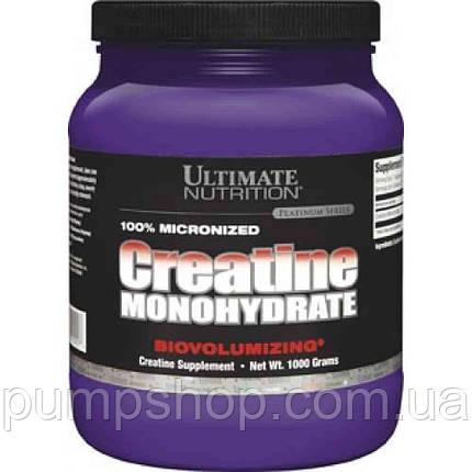 Креатин моногидрат Ultimate Nutrition Creatine monohydrate 1000 г, фото 2