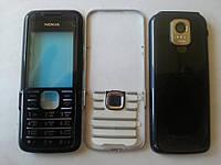 Корпус Nokia 7210s orig черный с клавиатурой