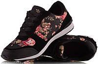 Кроссовки с цветочным принтом 37р.