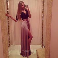 Стильное вечернее платье Чили Ян   $
