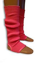 Гетри для танців гімнастики. Довжина 50 див. Рожеві.