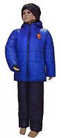 Детский зимний костюм куртка и штаны на 6-8 лет, фото 1