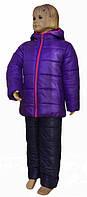 Теплый зимний костюм для девочки 6-8 лет, фото 1