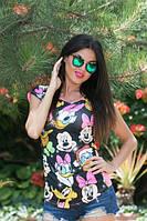 Женская футболка летняя модная 998 ас $