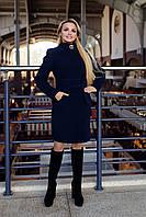 Женское кашемировое осеннее пальто арт. Луара стойка 6625