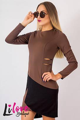 Женское платье №10-559