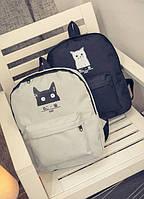 Стильный рюкзак с котиком, фото 1