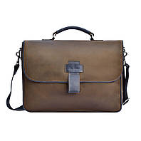 Мужская сумка-портфель Issa Hara B20 (32-33) brown