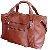 Вместительная  дорожная кожаная сумка        FC 811