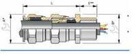 Кабельный ввод Ex e/d Verschraubung ADE 4F V1 CAP 848774V1