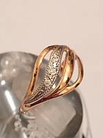 Кольцо золотое 585*,арт.1224 d