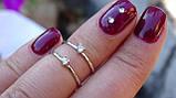 Кольцо серебряное с куб.цирконием, фото 2