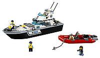 LEGO CITY Полицейский патрульный катер Police Patrol Boat 60129