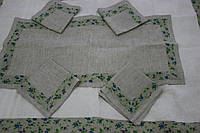 Льняное полотенце с кантом 50х100, лен 100%