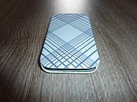 Чехол книжка для телефона Samsung I9500 S4 белая