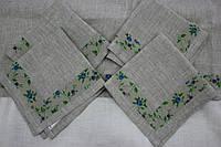 Льняные салфетки 45х45 - 4 шт.