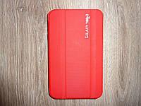 Чехол книжка для Samsung Galaxy Tab 3 7.0 P3200 T210 для планшета красная оригинал!