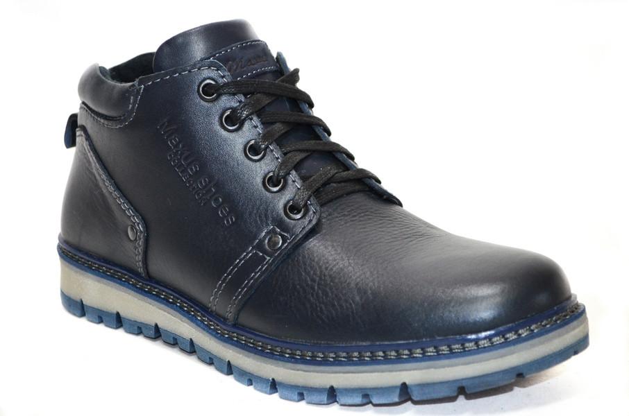 Мужские ботинки (арт.82 син к)