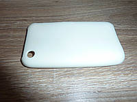 Чехол накладка для телефона Iphone 3G 3GS белый