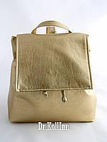 Стильный кожаный рюкзак, фото 1