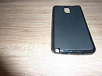 Чехол для телефона Samsung Note 3 N9000 черный силиконовый